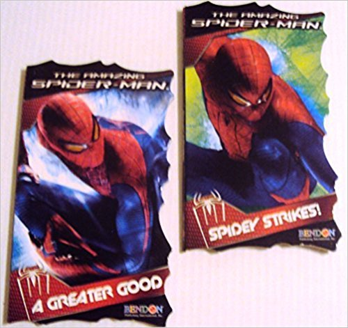 The Amazing Spider-Man Spidey Strikes and The Amazing-Spider-Man greater good Board book