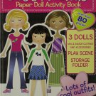 Best Friends Paper Doll Activity Book