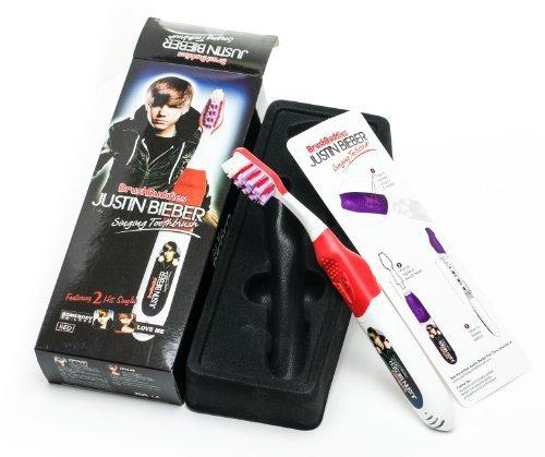 Brush Buddies 00311-72 Justin Bieber Singing Toothbrush by Brush Buddies