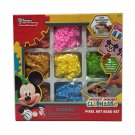 Disney Junior Mickey Mouse Clubhouse Pixel Art Bead Set - 3 Piece Mickey Emoji Art