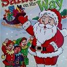 Santa's on His Way Jumbo Coloring & Activity Book