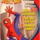 The Spectacular Spider-Man Activity Book with Pull-Out Poster & Growth Chart (Staplebound)
