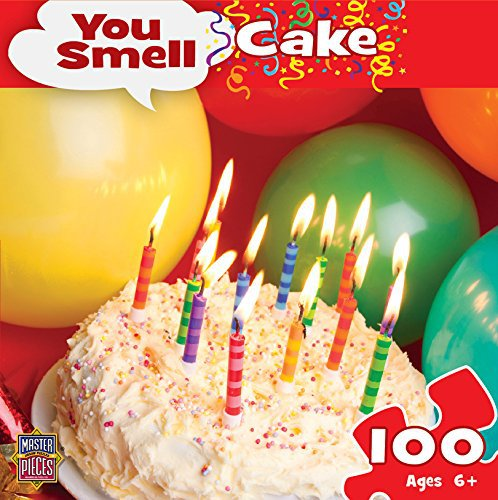 MasterPieces Puzzle Company You Smell You Smell Birthday Cake Jigsaw Puzzle (100-Piece)