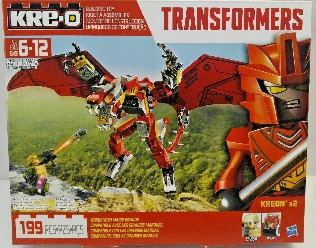KRE-O Transformers Predacon Attack 199pcs