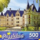 Azay le Rideau Castle, France - 500 Piece Jigsaw Puzzle Puzzlebug