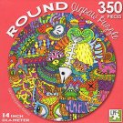 Kitty City - 350 Piece Round Jigsaw Puzzle