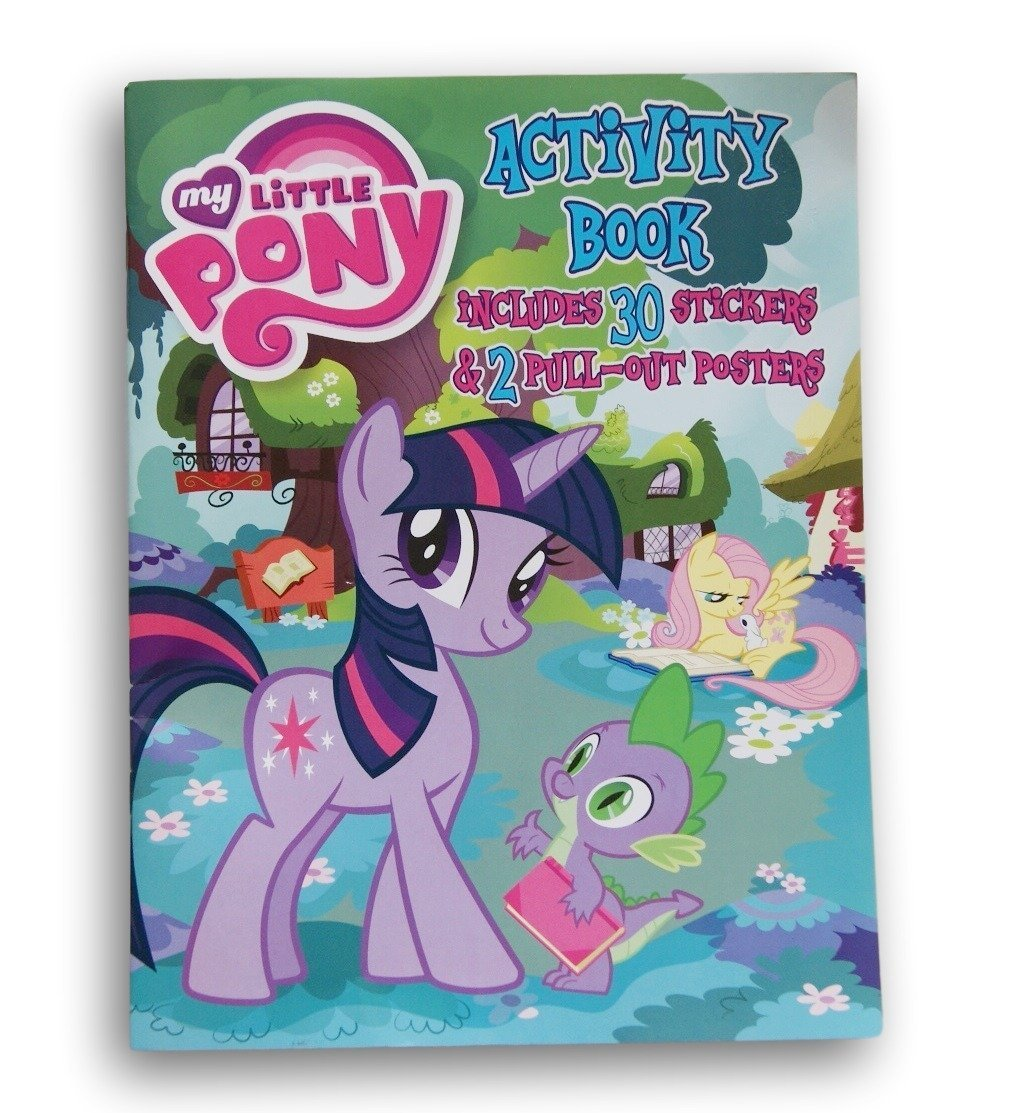My Little Pony Awesome Activity Book with Stickers and Pull Out Posters