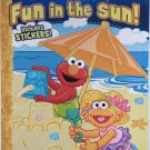 Sesame Street Fun in the Sun Coloring and Activity Book - Includes Stickers
