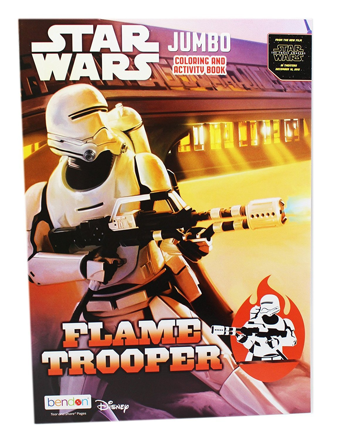 Star Wars Flame Trooper Jumbo Coloring and Activity Book