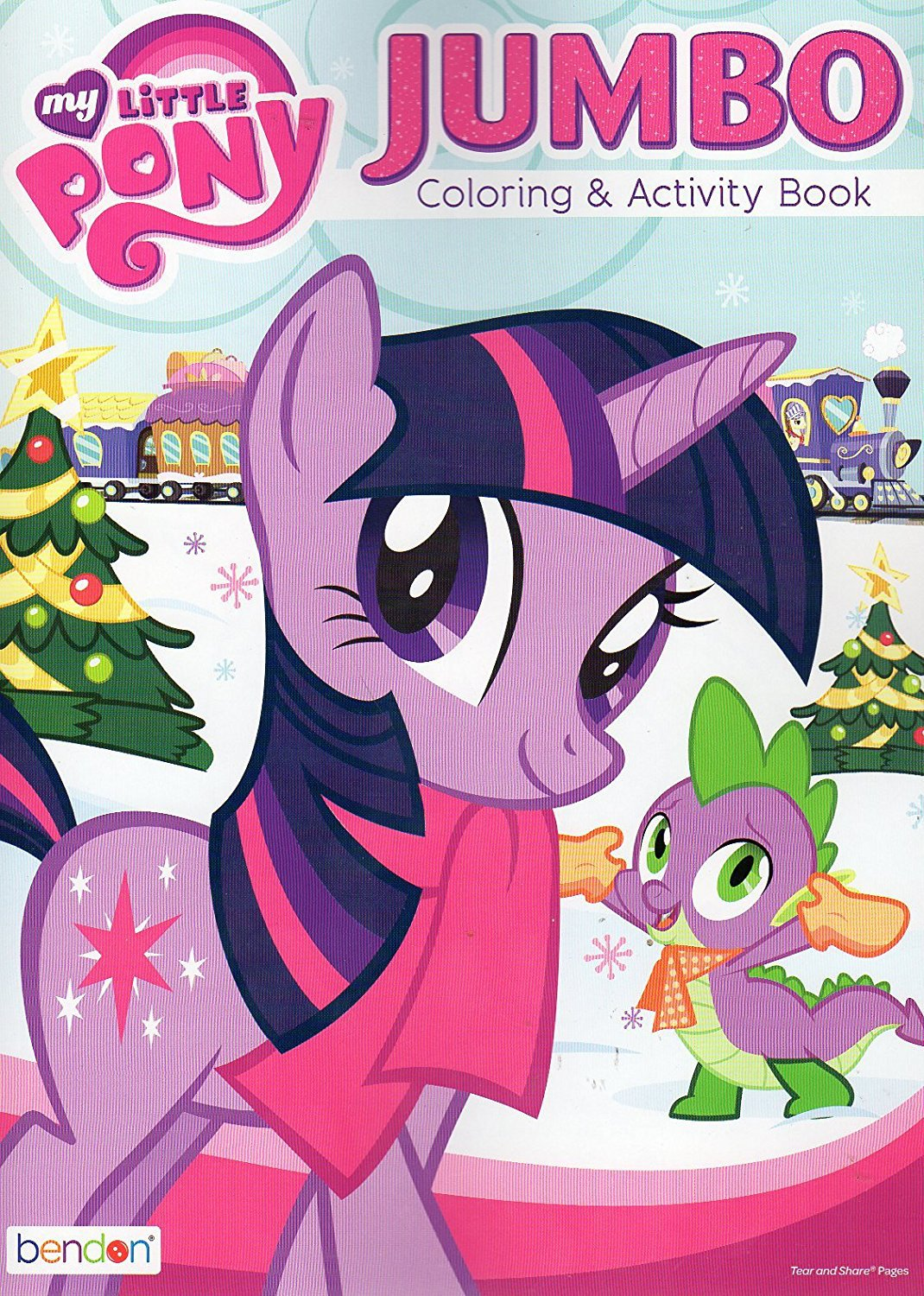 My Little Pony Jumbo Coloring and Activity Book - Christmas Holiday