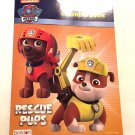 Paw Patrol Jumbo Coloring Book Rescue Pups