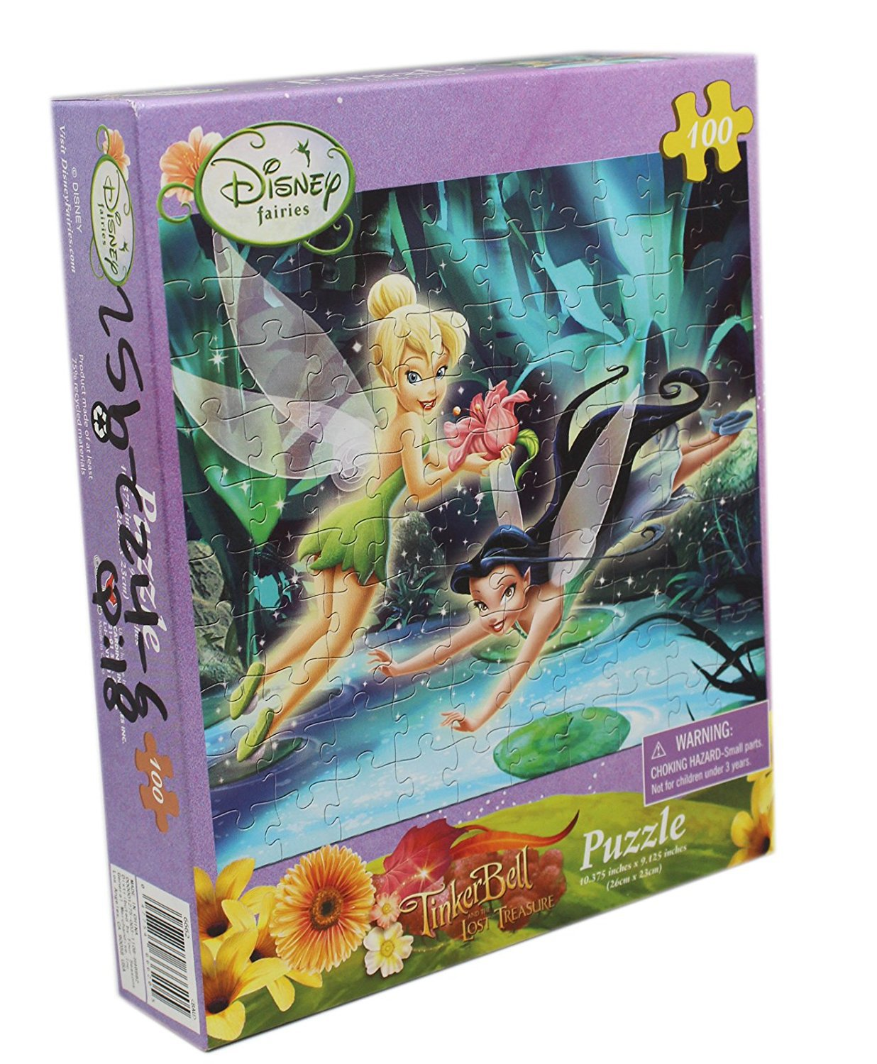 Disney's Tinker Bell and the Lost Treasure 100 Piece Puzzle