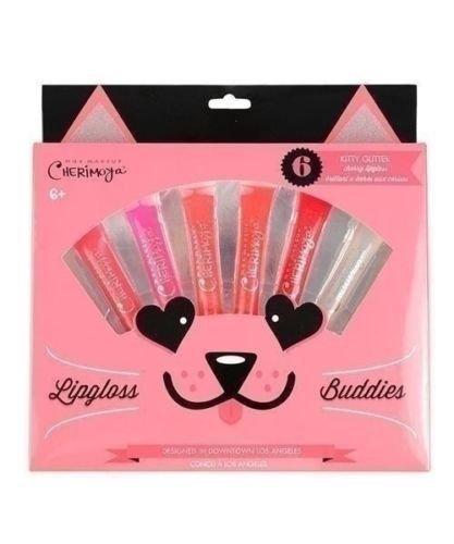 """Cherimoya Lip Gloss Buddies """"Kitty Glitter"""" Gift Set"""