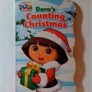 Nickelodeon Dora's Counting Christmas Board book