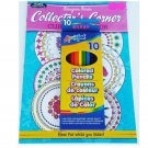 Adult Inspired Creative Collector's Corner Coloring Book with Colored Pencils