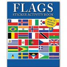 Flags Sticker Activity Book -  Flags from countries all over the world