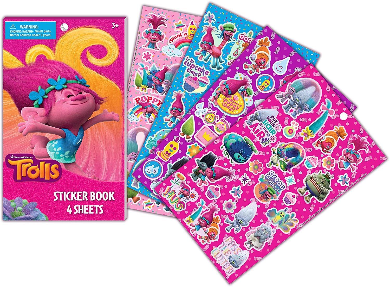Dreamworks Trolls Sticker Book