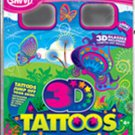 3-D Nature Themed Temporary Tattos (50 Tattoos Per Package)