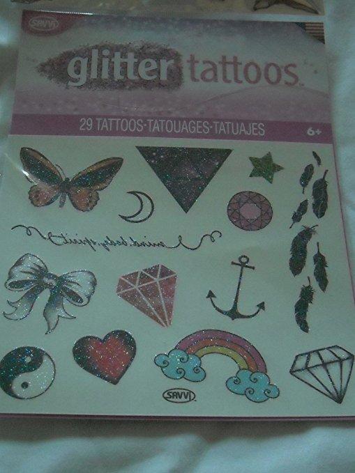 Savvi Glitter Tattoos - 29 Tattoos
