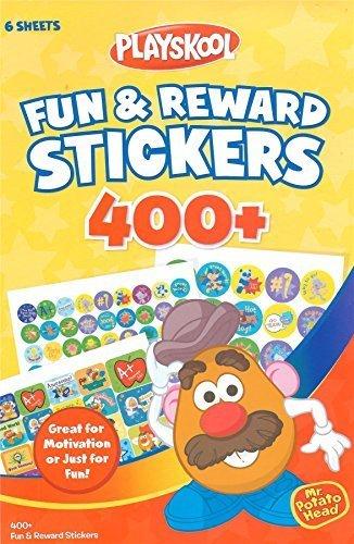 Playskool Mr. Potato Head Fun & Reward Fun Stickers 400