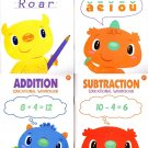 Workbooks - First Grade - Set of 4 Books - Spelling, Phonics, Addition, & Subtraction - v2