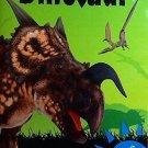 Green Dinosaur Activity Book ~ Fun Facts, Puzzles, Coloring, Jokes & More!