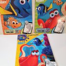 Disney Pixar Finding Dory Color and Play Coloring books - 3 pack