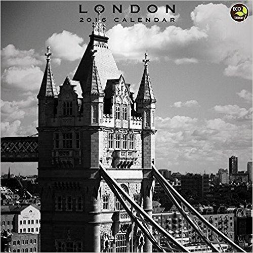 2016 London Wall Calendar by TF Publishing