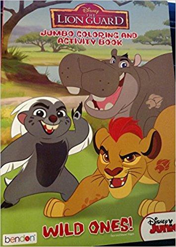Disney The Lion Guard Jumbo coloring & Activity Book Wild Ones!