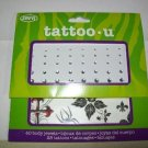 Tattoo - U, 28 Temporary Tattoos and 40 Body Jewels - True Love