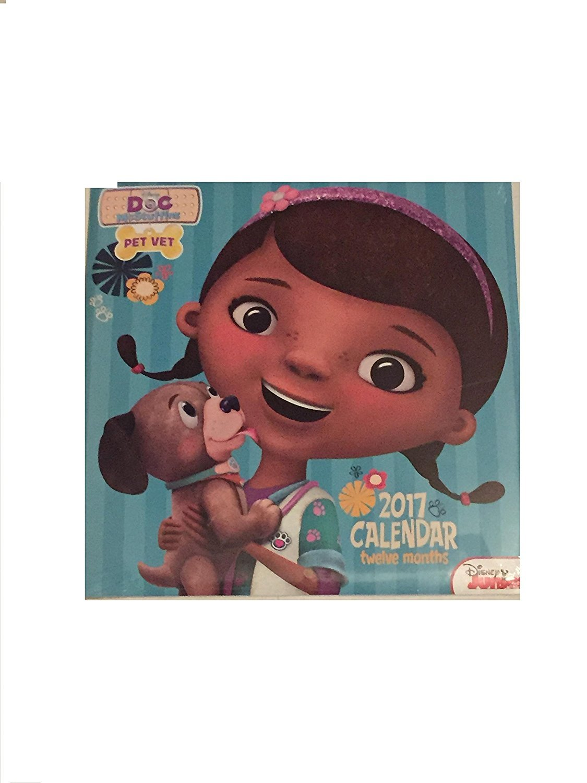 Disneys Doc McStuffins 2017 12-Month Calendar