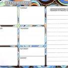 Magnetic Dry Erase Calendar - Weekly Planner