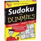 Sudoku For Dummies Card Game: Level 3 TOUGH by University Games