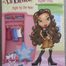 Lil' Bratz Funky Fashion Paper Doll Dolls Book ~ Style By the Mile!