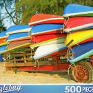 Colorful Canoes - 500 Piece Jigsaw Puzzle Puzzlebug