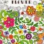 Adult Coloring Book - Flower - v2