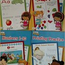 Fisher-Price Little People Alphabet, Colors & Shapes, Numbers 1-10, Printing Practice  Workbook