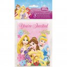 Disney Princess Disney Princess Party Invitations, 8 Count