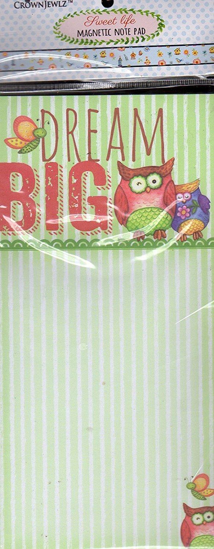 Sweet Life Magnetic Note Pad - Dream Big