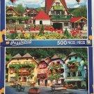 Bundle Lot of 2 Puzzlebug 500 Piece Puzzles by LPF