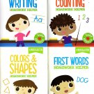 Homework Helper Educational Workbooks - Kindergarten - Set of 4 Workbooks