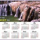 2017 Magnetic Calendar - Calendar Magnets - Today is my Lucky Day - Edition #9