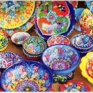 Beautiful Artisan Ceramic Bowls - Puzzlebug 650 Piece Jigsaw Puzzle