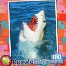 Puzzle Bug Great White Shark Attack - PuzzleBug - 100 Piece Jigsaw Puzzle
