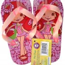 Strawberry Shortcake Flip Flops Size L 12 - 13 (Kids) - v4