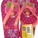 Strawberry Shortcake Flip Flops Size L 12 - 13 (Kids) - v2