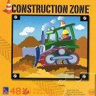 Construction Zone - Bulldozer - 48 Piece Jigsaw Puzzle