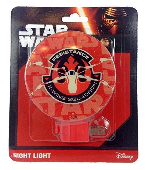 Disney Star Wars Night Light Resistance X-Wing Squadron