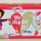 "Dora the Explorer and Boots ""We Made It!"" Tin Pencil Case"