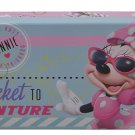 Disney Minnie Mouse - Metal Tin Case Pencil Box (BLUE)